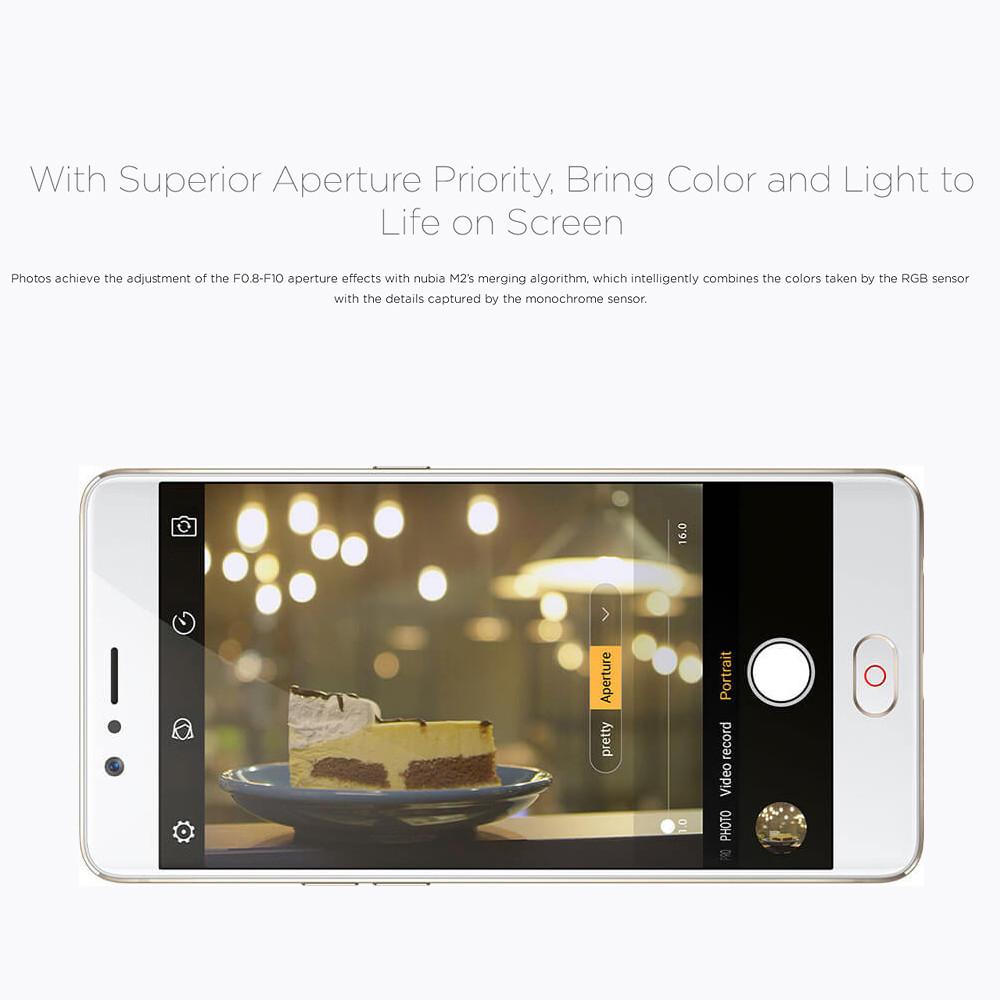 "Nubia M2 Lite 4G 5.5"" Smartphone 3GB/64GB or 4GB/32GB"
