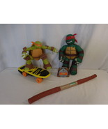 Teenage Mutant Ninja Turtles R/C Skateboarding Mikey R/C TMNT + Talking ... - $39.02