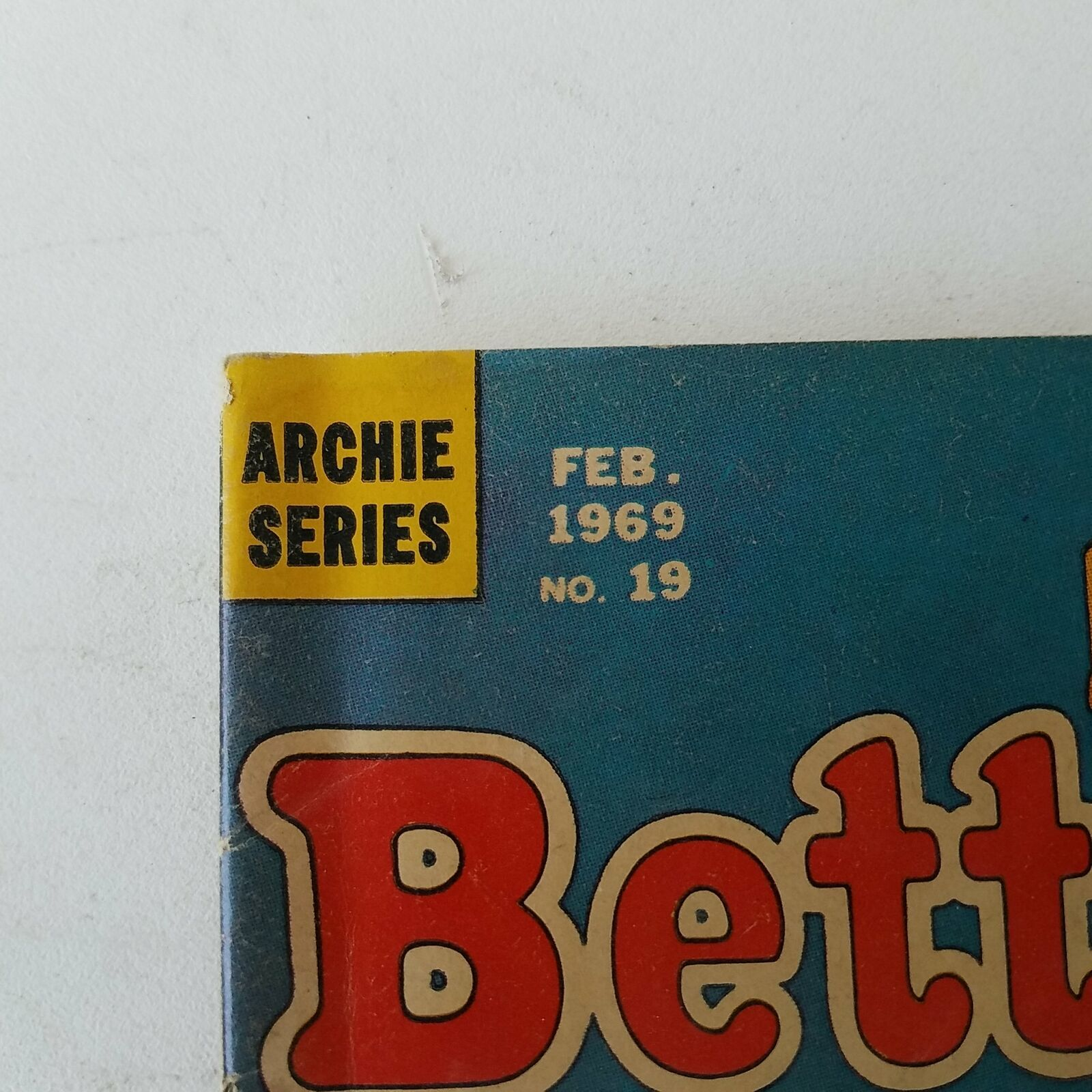 Archie Series - Betty And Me Feb. 1969 No. 19
