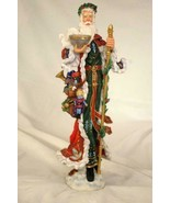 "Lenox 2003 Old English Santa Figure 12"" - $138.59"