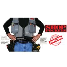Tool Belt Vest Utility Work Organizer Industrial Grade Light Weight Shop... - $156.79