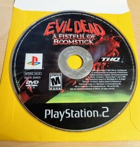 Evil Dead A Fistful of Boomstick Playstation 2 PS2 Disc Only Tested And Works - $9.89