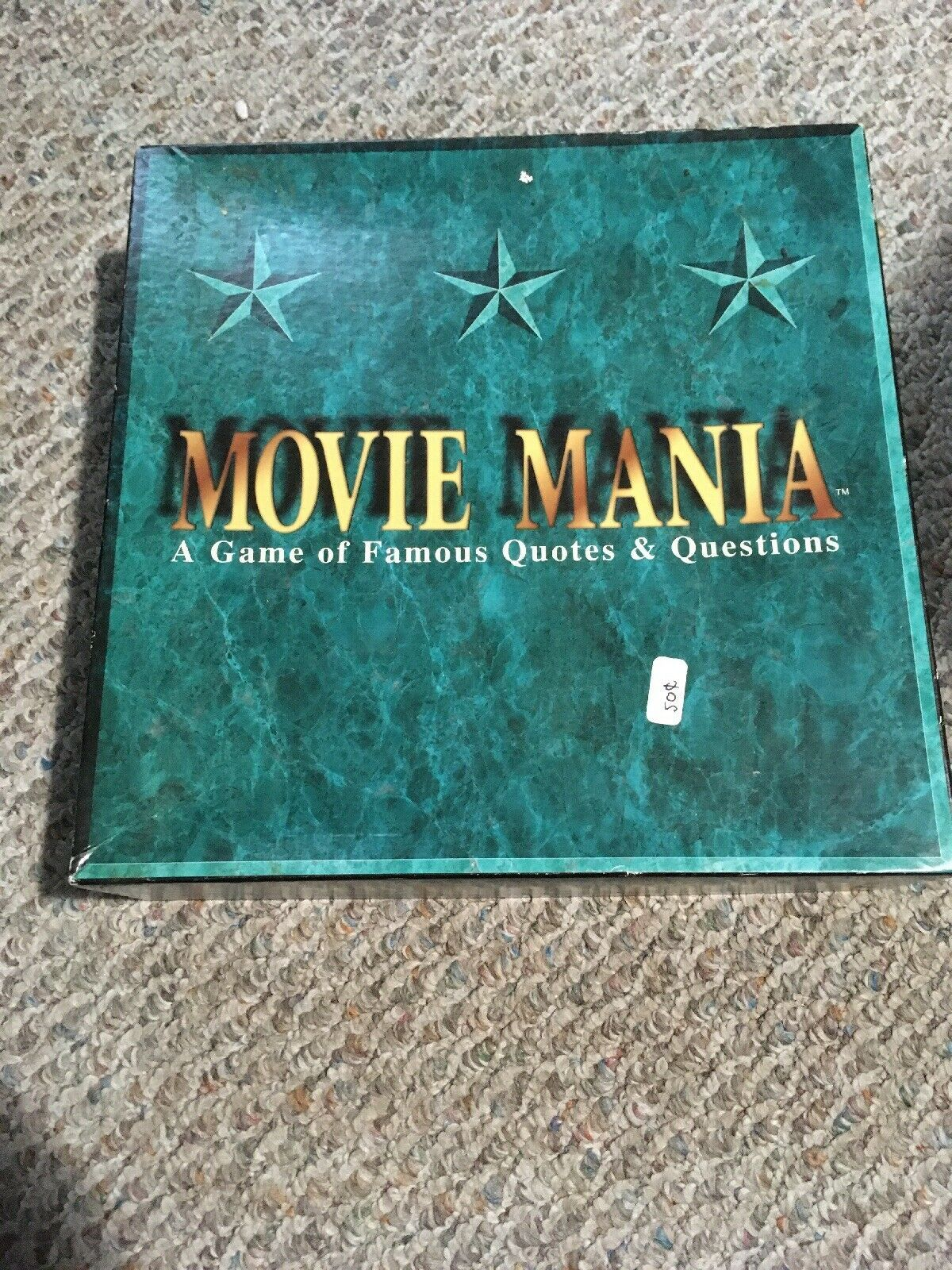 Primary image for Movie Mania A Game Of Famous Quotes & Questions 1993 Teen--Adult Film Knowledge