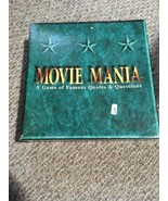Movie Mania A Game Of Famous Quotes & Questions 1993 Teen--Adult Film Kn... - $1.98
