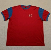 Polo Ralph Lauren Jeans Co. Colorblock 90s Single Stitch size XL *RARE VINTAGE - $20.54