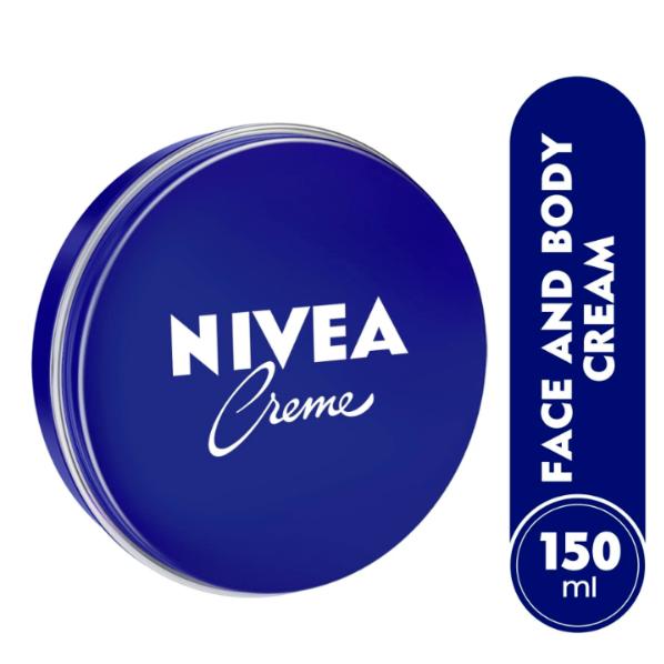 2 Can of 150 mL/ 5 Oz NIVEA CREAM Original Hand CREME moisturizer Metal Tin  image 2