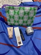 Clinique Skincare Makeup 5 Pcs Deluxe Samples Travel Size Gift Set Bag - $14.01