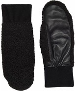 UGG Gloves Heritage Faux Sherpa Mittens Black S/M or L/XL NEW $75 - $59.99