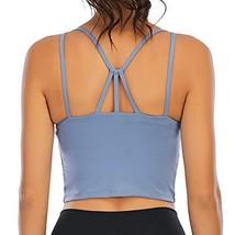 VORCY Padded Strappy Sports Bra for Women Fitness Workout Running (Mediu... - $24.96