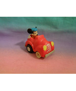 Vintage 1988 McDonald's Disney Miniature Mickey Mouse Pullback and Go Ca... - $1.67