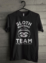 Sloth Running Team - Custom Men's T-Shirt (3151) - $19.13+
