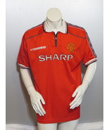 Manchester United Jersey (VTG) - 1998 Home Jersey by Umbro - Men's Large - $95.00