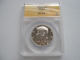 Kennedy Half Dollar , 1970-S, Proof  , PF 66 , ANACS Certified - $25.00