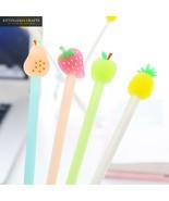KEVIN&SASA CRAFTS® 4Pcs/Set Fruit Gel Pen Cute Pen Stationary School Sup... - $3.56