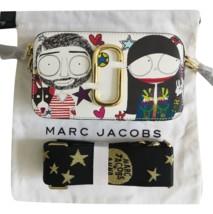 Marc Jacobs Snapshot Small Camera Bag Crossbody Bag Anna Sui Printed Pur... - $255.00