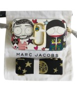 Marc Jacobs Snapshot Small Camera Bag Crossbody Bag Anna Sui Printed Pur... - $255.00