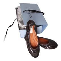 Lanvin Ballet Flat Shoes Black Color Size 38.5/8.5 In Original Box - $92.56