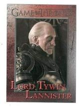 Game of Thrones trading card #60 2012 Lord Tywin Lannister - $4.00
