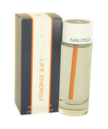 Nautica Life Energy Eau De Toilette Spray 3.4 Oz For Men  - $22.57