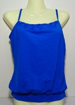 Jantzen Size 8 Blue New Women's Tankini Swim Top Swimwear - $71.28