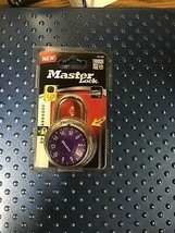 Master Lock 3714D Purple Combination Lock - $7.75