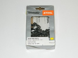 "Stihl 3639 005 0072 18"" Chain 26RSC 72E .325"" Gauge .063 Pitch 72 Links Genuine - $24.99"