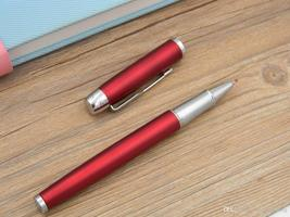 gift IM Red Lacquerred Arrow Clip 0.5mm Nib Roller ball Pen - $8.99