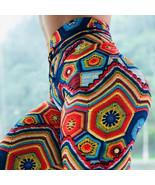Women 3D Rainbow Weave Yoga Leggings Boho Aztec Fitness Pants Sport Stre... - $18.49+