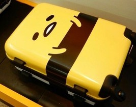 SANRIO Gudetama Carry-on-Suitcase (36 x 21 x 51) Kawaii Japan New - $237.42