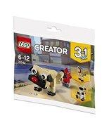 LEGO Creator 3 in 1 Pug, Turkey, and Koala Bear (30542) Bagged - $14.84