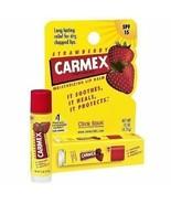 Carmex Everyday Protecting Lip Balm Strawberry Lips Stick Moisturizing S... - $7.99