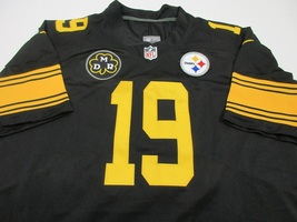 JUJU SMITH-SCHUSTER / AUTOGRPAHED PITTSBURGH STEELERS PRO STYLE JERSEY / COA image 2