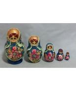 Set of 5 Russian Nesting Dolls - $14.36