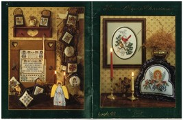 HOME AGAIN CHRISTMAS   - STONEY CREEK CROSS STITCH BOOK - $8.86