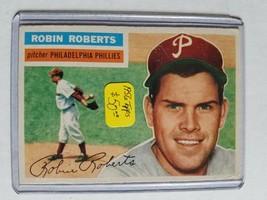 1956 Topps #180 Robin Roberts : Philadelphia Phillies - $40.80