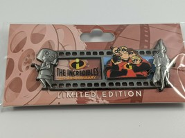 Disney Employee Center The Incredibles 15th Anniversary Filmstrip LE250 Pin - $54.44