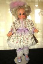 Vintage Ideal Movin' Groovin' Velvet Crissy Pull hair Doll Butterfly Knob - $58.79