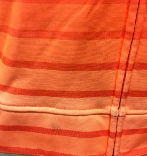 Under Armour Hoodie Sweatshirt Orange Stripe Youth Large image 10