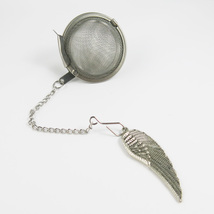 Feather steel tea infuser - $6.00