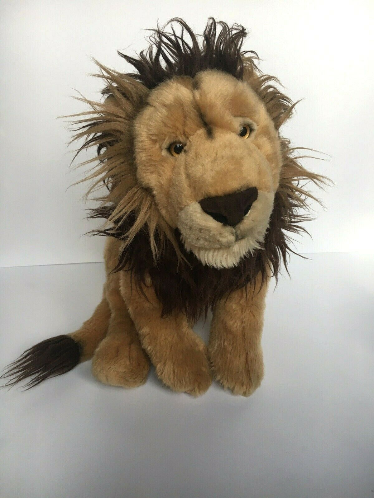 Primary image for FAO Lion Big Cat Plush Soft Toy Jungle 2012 Toys R Us Stuffed Animal 20""