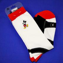 Disney Parks Mickey Mouse Mens Tall Socks Sz 9-12 image 2