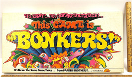 Vintage 1978 Parker Brothers Bonkers Family Board Game Tabletop No. 51 Retro - $23.36