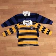 PLC Athletic Dept. & Oshkosh Jersey Polo Boys Striped Long Sleeve Shirts - 5/6 - $16.34