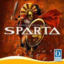 Sparta Game, German Edition by Queen Games (NIP) - $24.95