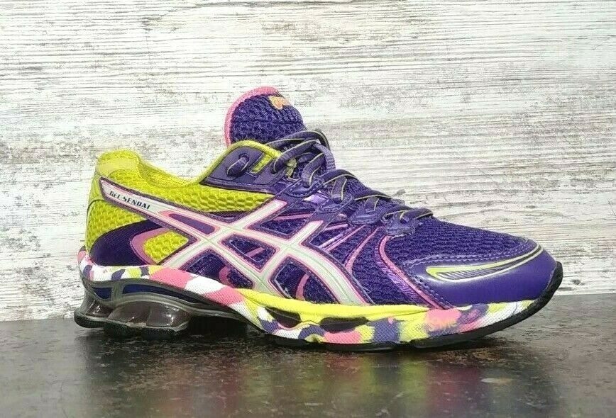 Womens Asics Gel Sendai Running Shoes SZ 6.5 37.5 Used T36DQ Sneakers Trainers image 2