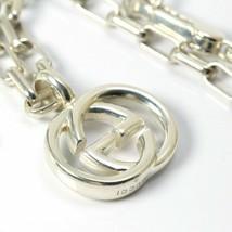 Gucci Interlocking Necklace Sv925 Silver 14987 F/S - $375.32