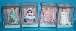 Hallmark Madame Alexander 6 Merry Miniatures & 2005 Mini Rosette Bride/G... - $40.00