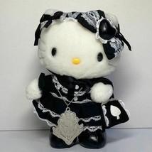 Hello Kitty Takemoto Nobara Collaboration Gothic Lolita Doll Plush Sanri... - $178.35