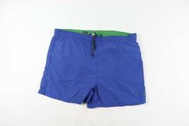 Vintage 90s Ralph Lauren XL Outdoor Schwimmen Badehose Shorts Blau - $33.72