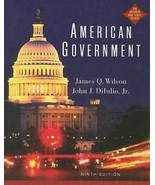 American Government Ninth Edition Textbook For Advanced High School Courses - $12.86